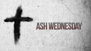 Ash Wednesday Service - February 14, 7pm