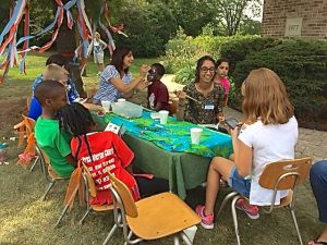 Face Painting Fun last weekend at Hope's Diversity Picnic