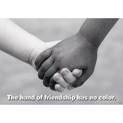 The Hand of Friendship knows no color. Hope Presbyterian and Bethel New Life - Partners and Friends!