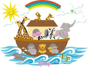 """Hope dedicates our new """"Noah's Ark Nursery"""" on January 15th. We are seeking donations of new toys, books, or activites suitable for infants to 4 year olds."""
