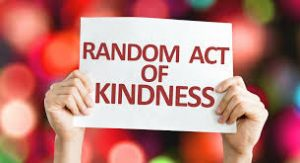 Random Acts of Kindness Week - February 12-18.  Join the challenge!  If we each do one act of kindness each day this week, what a wonderful world this would be!