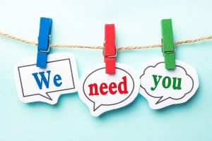 Hope's Greeting and Sound Teams are looking for volunteers.  Contact the church office for details.