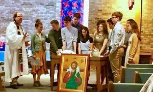Confirmation Sunday at Hope. We welcomed six Confirmands to our church family.