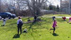 Easter Egg Hunt and brunch following church - March 25
