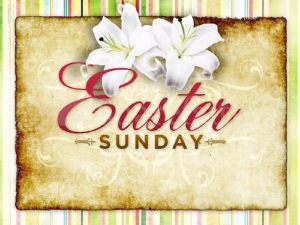 Easter Sunday service - April 21, 10am.