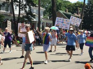 Hopers Walking the Talk in Wheaton's 4th of July Parade!