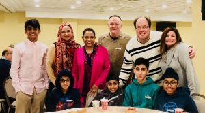 Hopers enjoy an Interfaith Breakfast at the Islamic Center.
