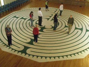 Walk the Labyrinth at Hope, March 26-30