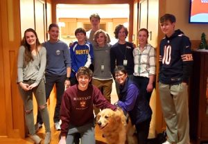 Lighthouse volunteered to cook dinner at CDH's Ronald McDonald House.