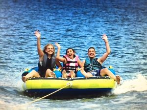 Tubing with Hope's teens!