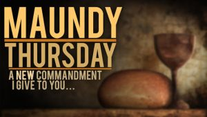 Maundy Thursday contemplative service is on April 18th, 7pm.