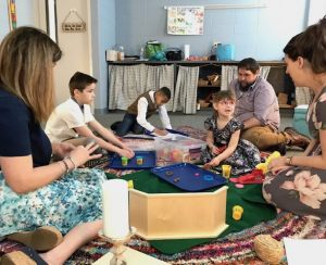 Sunday School at Hope. Ages 5-5th grade are invited to our Montessori based program.  Lots of hands on learning through story time and arts and crafts! Come join the fun!
