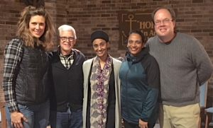 "Voices of Hope meets February 21, 7pm. ""Faith in the Material World: Outward Expressions of an Inner Light.""  Come to an evening of dinner and dialogue with our Sikh & Muslim neighbors about the outward expressions of our inner relationship to God."