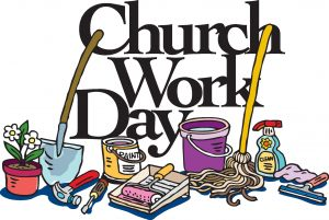 Spring Clean-up at Hope, Sunday, June 9th immediately following church. Work for just 1 hour then stay for our annual Work Day Picnic!