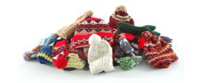 Collecting hats and mittens for Hope Chicago. Drop your donations off at Hope before November 17th.